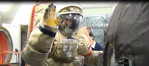 Painel Ficção e Realidade com o astronauta Marcos Palhares