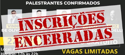 INSCRIÇÕES ENCERRADAS! Seminário Negócios 4.0 em Caruaru